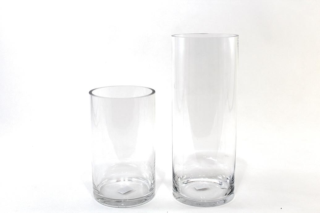 Vase clair en verre rond 2 grandeurs disponibles mariage d co belle nuance - Vase rond en verre ...