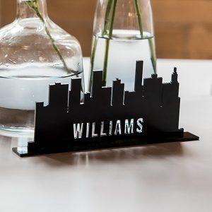 Silhouette décorative personnalisé en acrylique