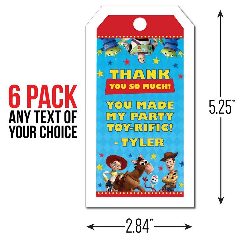X2 Personnalisé Anniversaire Bannière Toy Story Enfants Fête Décoration Poster 2