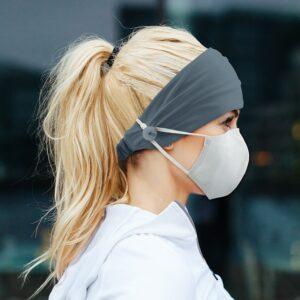 Porte-bandeau pour masque facial Adulte et Enfant